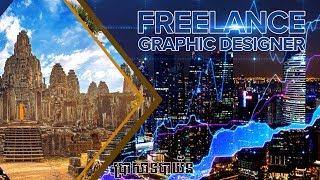 របៀបធ្វើ cover facebook How To Make Facebook Cover Photo Design - Photoshop Tutorial