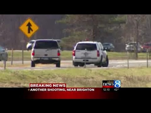 Shots reported along I-96 at US-23