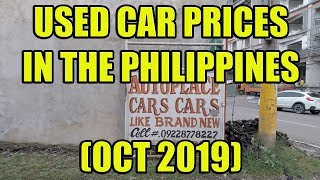 Used Car Prices In The Philippines (Oct 2019)