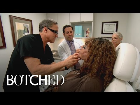 Botched | Terry Dubrow Hatches Plan to Take on Cement-Injected Face | E!