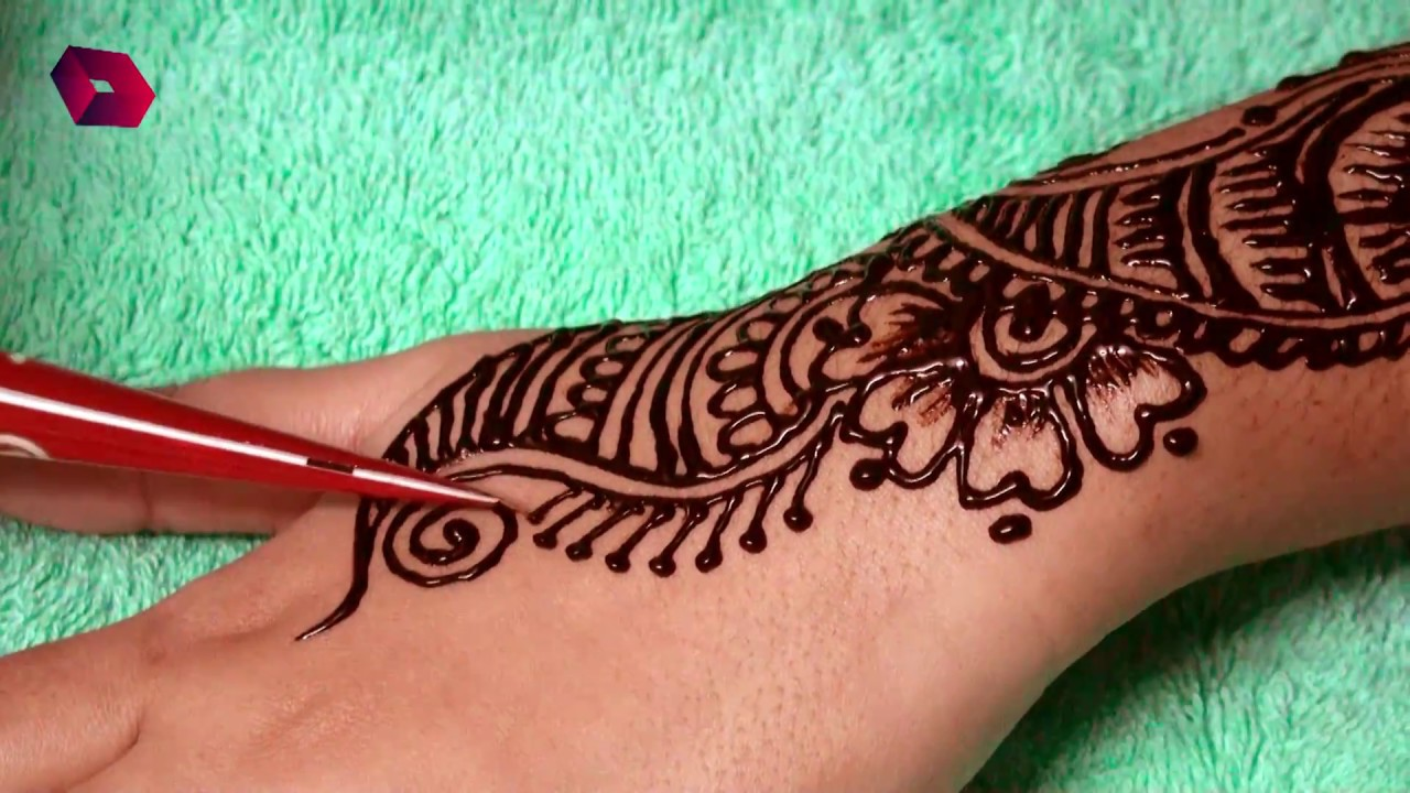 Mehndi design 2017 new model - New Style Unique Mehndi Designs 2017 For Hands Weeding Mehndi Design Tutorials For Women