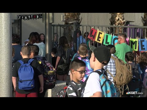Gateway Elementary in Ridgecrest kicks off new school year
