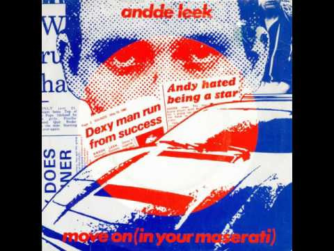 Andde Leek - Move On (In Your Maserati) (1980) New Wave