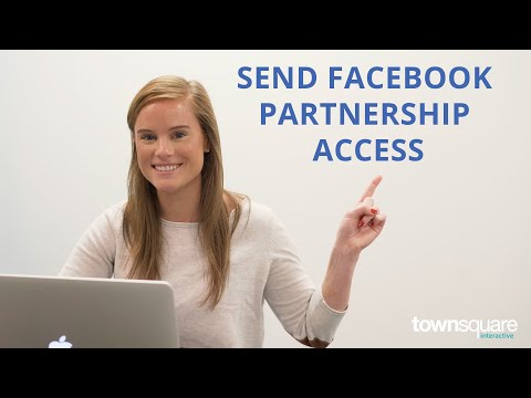 How To Send Partnership Access On Facebook