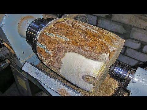 Woodturning - a Unusual Walnut Log
