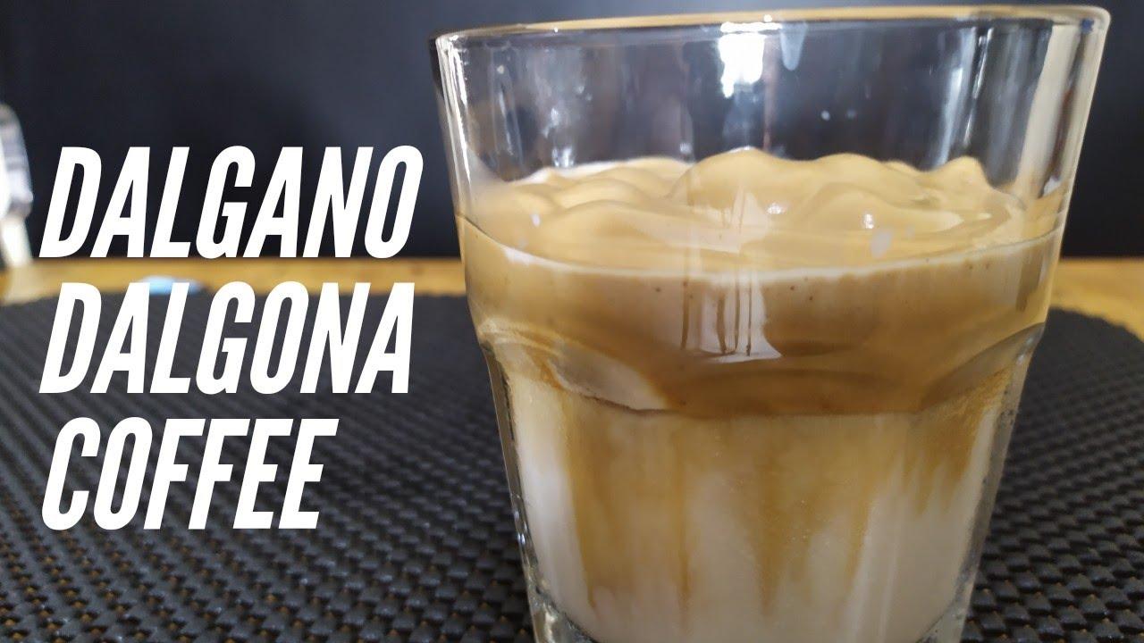 5 menit membuat Dalgano/Dalgona Coffee anti GAGAL ! - YouTube