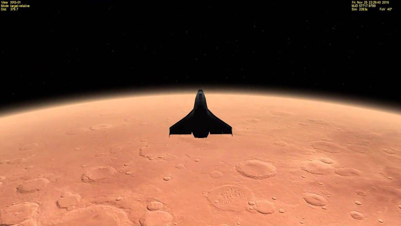 Download Aerocapture on Mars with XR5 Vanguard - Orbiter 2010
