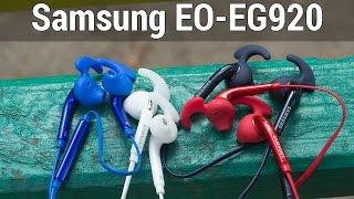 Samsung EO-EG920 обзор. Подробный видеообзор гарнитуры Samsung EO-EG920 от FERUMM.COM