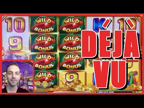 😍 😍 DEJA VU Live Slot Play at Cosmopolitan Casino ✦ Slot Machine Pokies w Brian Christopher