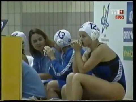July 27, 2001, FINA Water Polo World Championship, Women Final, Italy - Hungary
