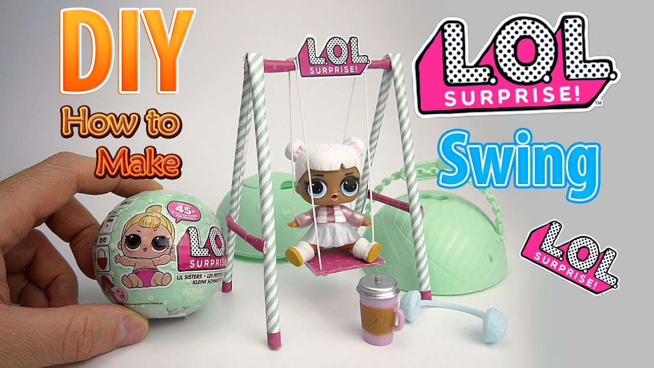 Diy Realistic Miniature Swing For Lol Surprise Big