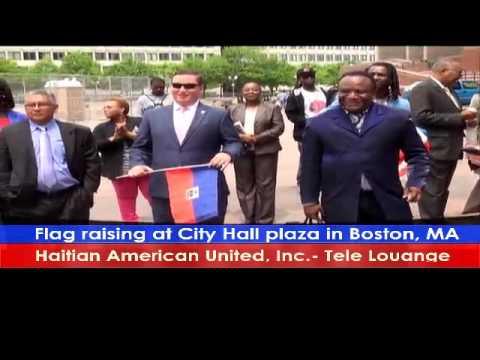 Haitian Flag Raising Ceremony-City Hall Boston