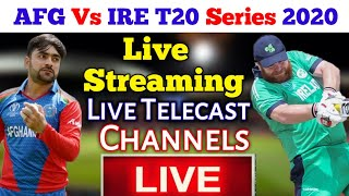 Afghanistan Vs Ireland 3 T20 Match Live Streaming | Live telecast Channels | Cricket 4 Asia |