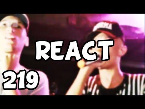 REACT 219# KNUST x SAMURAI - [BATALHA 50 CENTS VS BATALHA DO TANQUE]