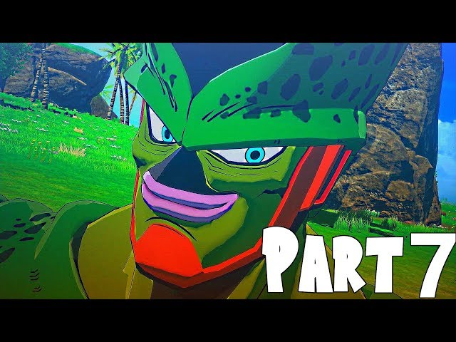 Dragon Ball Z Kakarot Gameplay Walkthrough Part 7- The Android Saga & Cell Awakens (XBOX ONE)