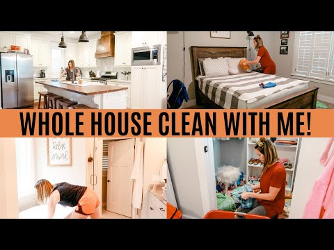 WHOLE HOUSE CLEAN WITH ME 2019 | EXTREME CLEANING MOTIVATION | Amy Darley