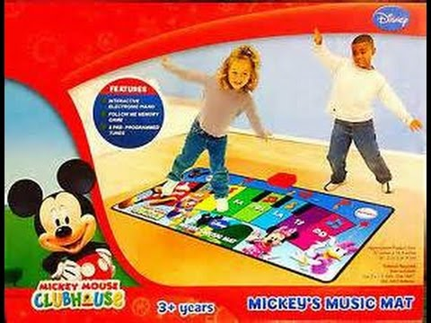 Mickey Mouse Clubhouse Music Play Mat Youtube