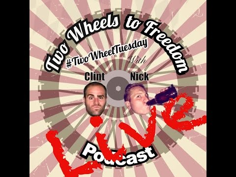 Two Wheel Tuesday Live Stream Podcast #5 with Jon Guetter 4/4/17