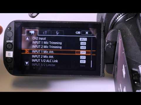 Canon XA25 Tutorial - Best Settings - How to setup camera