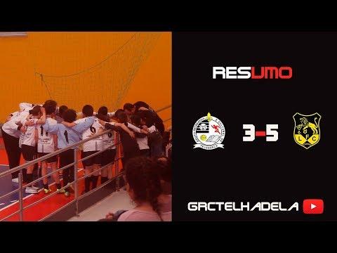 FORMAÇÃO: G.R.C.Telhadela VS Lourosa F.C- Futsal infantis- C.Distrital Aveiro- Jornada 6