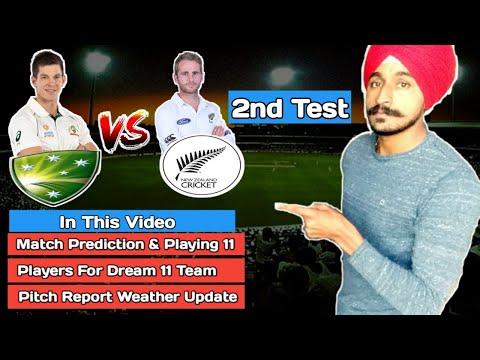 Australia Vs New Zealand 2nd Test 2019 | MCG | Dream11 | Playing 11 | Pitch Report