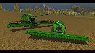 Farming Simulator 2013 Mods  - Combine Harvester John Deere 9770 STS Pack