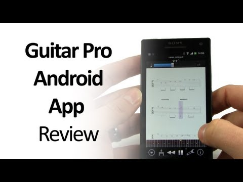 Guitar Pro Android App Review - Play and learn from guitar pro tabs on your android device