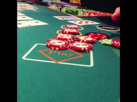 Wynn Las Vegas 3 Card Poker Three Of A Kind Payout On $10 Bet