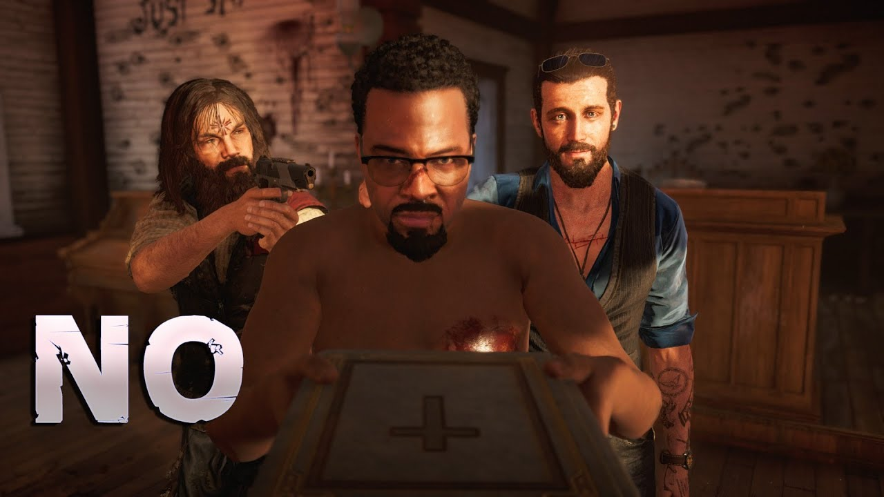 Far Cry 5 Refusing To Say Yes To John Seed Youtube