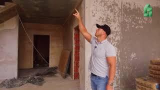 Грубые ошибки строительство прогнулась крыша стропильная система кирпичный дом