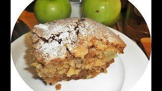 Apple &amp Almond Cake.
