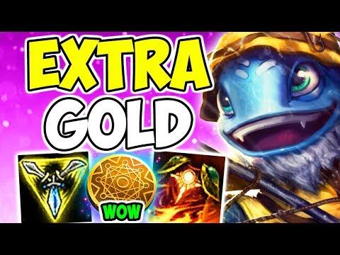 THE ULTIMATE RAGEQUIT!!! Fizz Top Kleptomancy Gold Collecting Bruiser Top Build League Of Legends S9