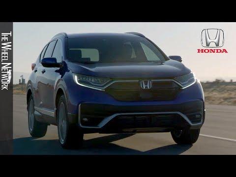 2020 Honda CR-V Touring | Aegean Blue Metallic (US Spec)
