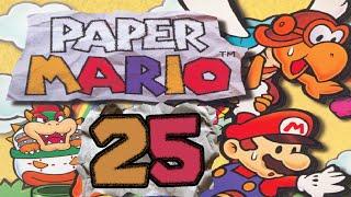 Let's Play Paper Mario (Part 25): Luigi hat Geheimnisse vor seinem Bruder!