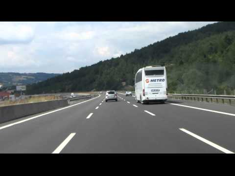 Driving from Ankara to Istanbul