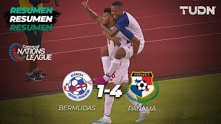Resumen y Goles Bermudas 1 -  4 Panama | CONCACAF Nations League - Jornada 1 | TUDN