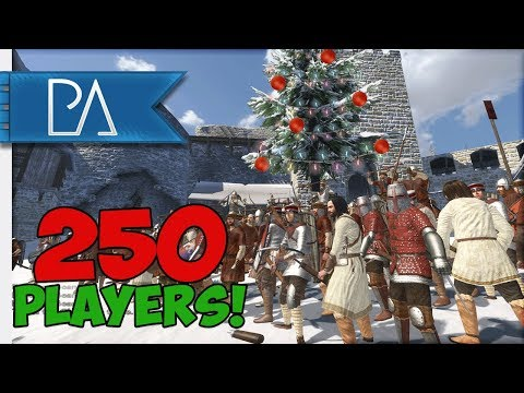 WORLDS LARGEST EVENT! 250 PLAYERS! - Mount & Blade: Warband