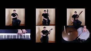 Hallelujah - Leonard Cohen song - music cover on 6 instruments