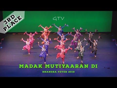 Madak Mutiyaaran Di – Third Place – Bhangra Fever 2019