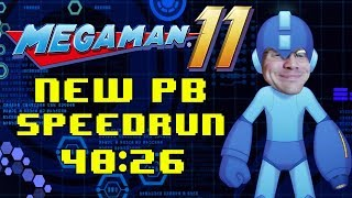 Mega Man 11 Any% Speedrun in 40:26 PB!