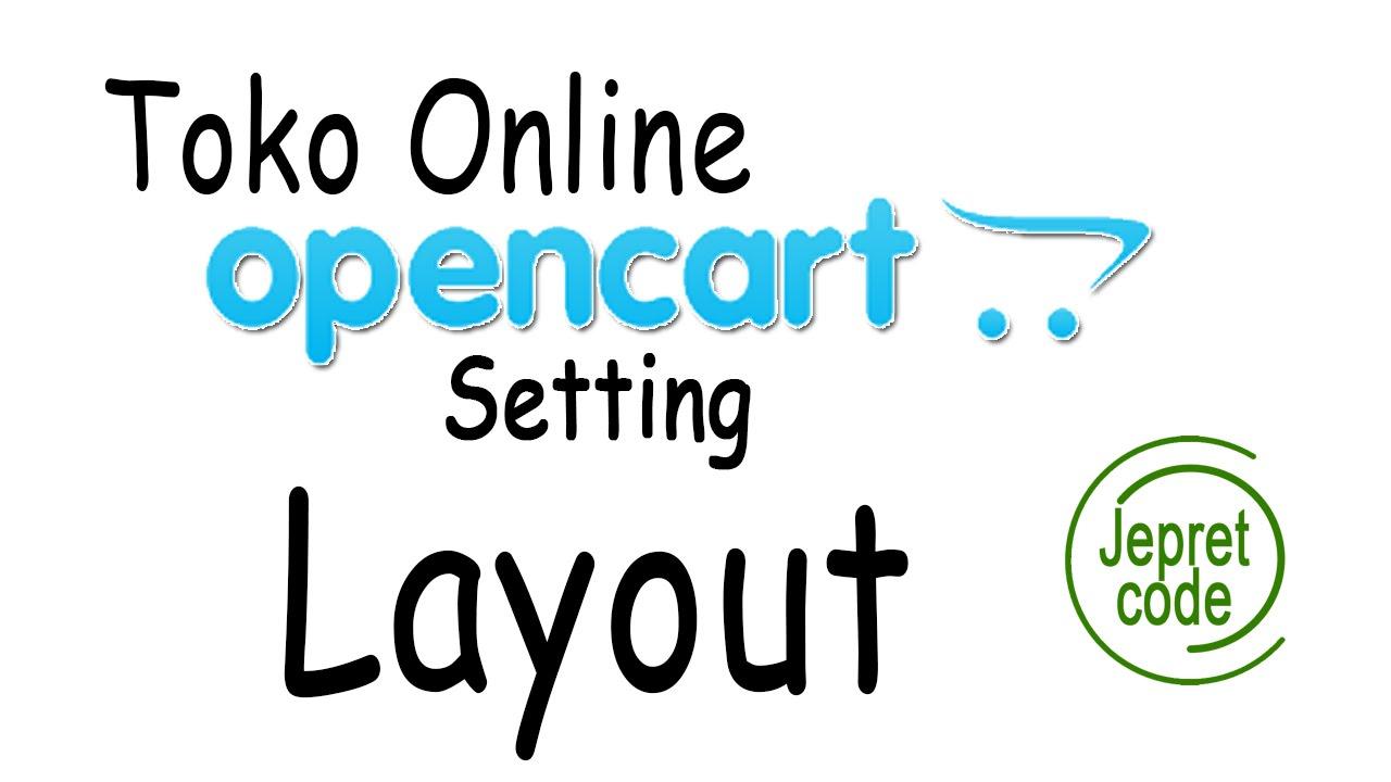 Tutorial Membuat Toko Online Dengan Opencart