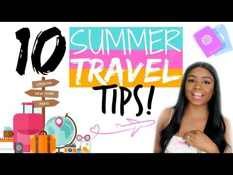 10 SUMMER TRAVEL TIPS | FROM A FLIGHT ATTENDANT