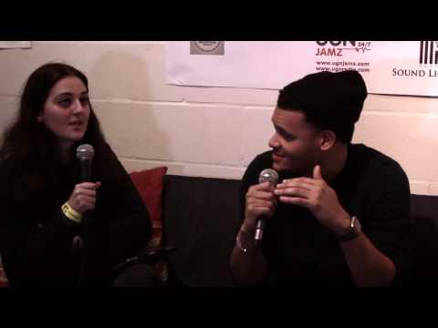 Christon Gray Interview London 2017