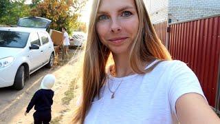 vlog 🍂  установили МОЙКУ и варочную поверхность / день рождения НА ДАЧЕ / Старая мебель пригодится!