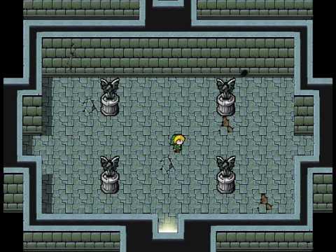 The Legend of Zelda Remake - passaggio di stanza
