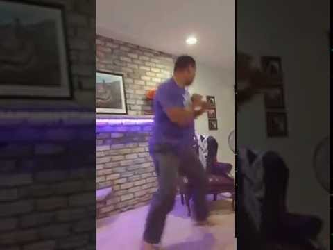 Big Guy Does Happiest Dance Ever To Raise Awareness For Childhood-cancer Research