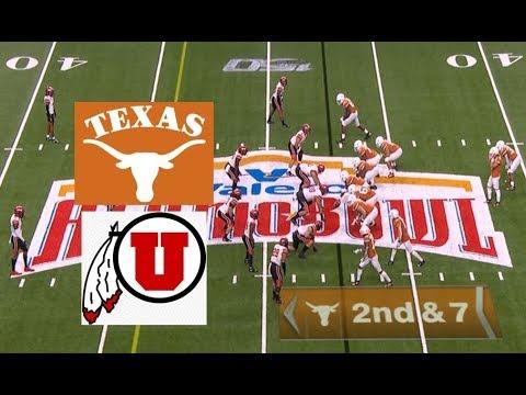 Utah Vs Texas Football Bowl Game 12 31 2019