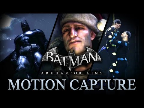 Batman: Arkham Origins - Motion Capture Trailer