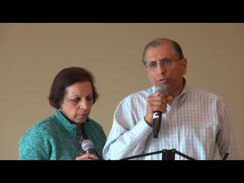 Yesh Mehra and wife singing at ICC Senior Karaoke Program on 04/12/2017   M2U04019