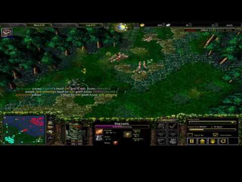 Dota 1 Safe Line Skeleton King Wraith King UtCung Long Gameplay
